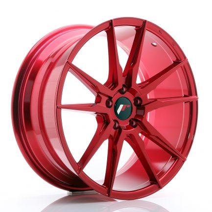 JAPAN RACING JR Wheels JR21 19x8,5 ET40 5x112 Platinum Red 8.50x19