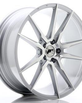 JR Wheels JR21 20×8,5 ET35 5×120 Silver Machined Face