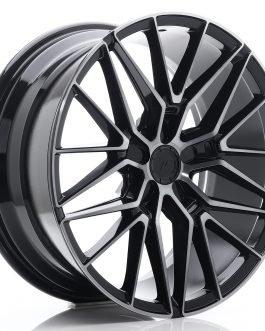 JR Wheels JR38 19×8,5 ET20-45 5H BLANK Black Brushed w/Tinted Face