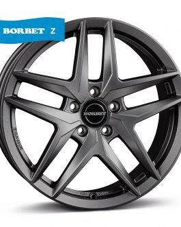 Borbet Z dark grey matt 8×19 ET: 39 – 5×112