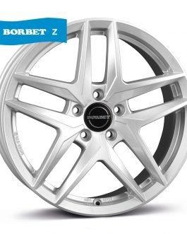 Borbet Z crystal silver 7.5×17 ET: 30 – 5×112