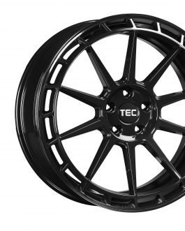 TEC Speedwheels GT8 Black glossy CB: 63.4 8×18 ET: 38 – 4×108