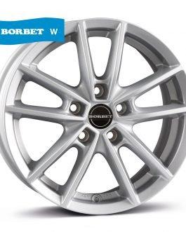 Borbet W crystal silver 7×17 ET: 50 – 5×108