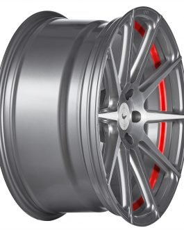 Barracuda PROJECT 2.0 silver brushed/ undercut Color Trim rot 9.5×19 ET: 47 – 5×112