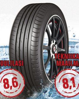 Nankang Sportnex AS-2+ TM- ja Tuulilasi-testimenestys 195/40-16 (W/80) KesÄrengas