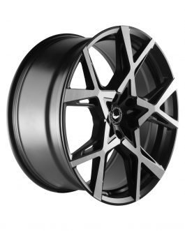 Barracuda PROJECT X Black brushed Surface 10.0×22 ET: 45 – 5×130