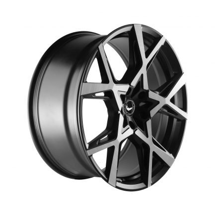 Barracuda PROJECT X Black brushed Surface 10.0x22 ET: 40 - 5x108