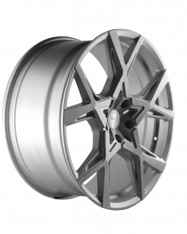 Barracuda PROJECT X Silver-brushed-Surface 10.0×22 ET: 45 – 5×112