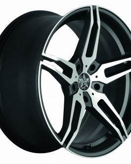 Barracuda STARZZ Mattblack-polished 8.5×19 ET: 45 – 5×112