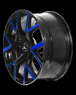 Barracuda TZUNAMEE EVO Black gloss Flashblue 8.5×19 ET: 35 – 5×114.3
