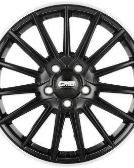 CMS C23 Diamond Rim Black 7.5×17 ET: 38 – 5×114.3