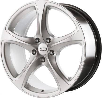 CMS C12 Silver 6.5x16 ET: 41 - 5x115