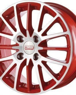 CMS C17 Diamond Red Gloss 6×14 ET: 35 – 4×98