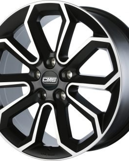 CMS C20 Diamond Matt Black 7.5×17 ET: 47 – 5×114.3