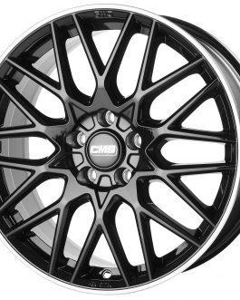 CMS C25 Diamond Rim Black 7×17 ET: 40 – 5×112
