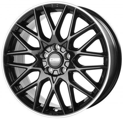 CMS C25 Diamond Rim Black 8x19 ET: 30 - 5x112