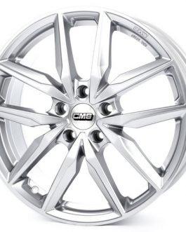 CMS C28 Racing Silver 7.5×19 ET: 50 – 5×114.3
