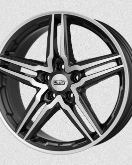 CMS C29 Diamond Black Gloss 7.5×17 ET: 38 – 5×112