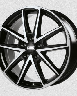CMS C30 Diamond Black 7×17 ET: 40 – 5×110