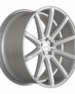 Corspeed DEVILLE Silver-brushed-Surface/ undercut Color Trim weiß 10.5×20 ET: 35 – 5×120