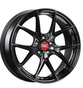 TEC Speedwheels GT6 Black glossy CB: 72.5 9×19 ET: 25 – 5×112