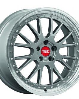TEC Speedwheels GTE Titan polished lip CB: 64.0 8×18 ET: 35 – 4×100