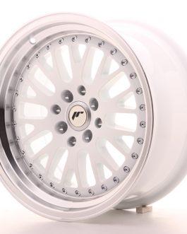 JR Wheels JR10 16×8 ET10 4×100/114 White w/Machined Lip