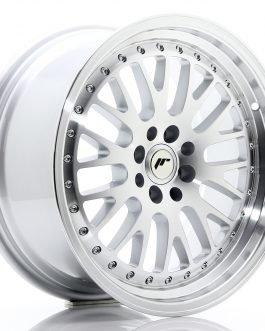 JR Wheels JR10 17×8 ET35 4×100/114 Silver Machined Face