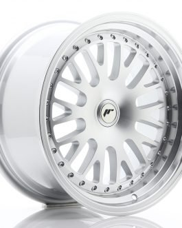 JR Wheels JR10 17×9 ET25-30 BLANK Silver Machined Face