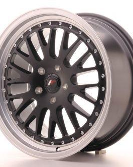 JR Wheels JR10 18×8,5 ET40-45 BLANK Matt Black w/Machined Lip