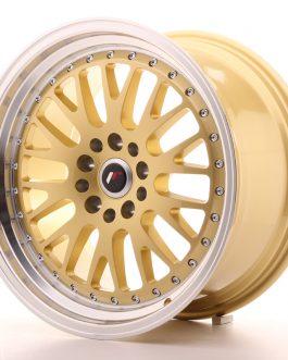 JR Wheels JR10 18×9,5 ET18 5×114/120 Gold w/Machined Lip