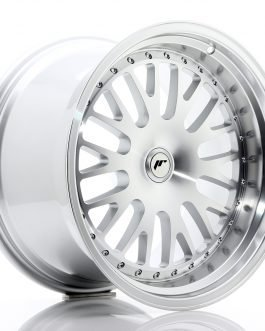 JR Wheels JR10 19×11 ET15-30 BLANK Silver Machined Face