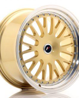 JR Wheels JR10 19×9,5 ET20-35 BLANK Gold w/Machined Lip