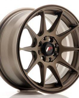 JR Wheels JR11 15×7 ET30 4×100/114 Matt Bronze