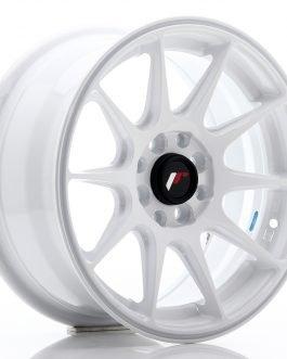 JR Wheels JR11 15×7 ET30 4×100/108 White