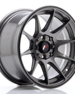 JR Wheels JR11 15×8 ET25 4×100/114 Hyper Gray