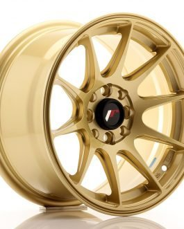 JR Wheels JR11 15×8 ET25 4×100/108 Gold