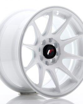 JR Wheels JR11 15×8 ET25 4×100/108 White