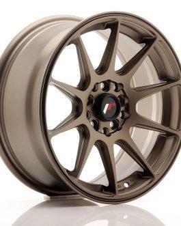 JR Wheels JR11 16×7 ET30 5×100/114 Matt Bronze