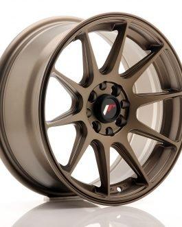 JR Wheels JR11 16×7 ET25 4×100/108 Matt Bronze