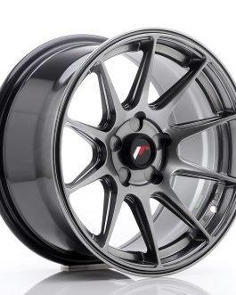 JR Wheels JR11 16×8 ET25 5H BLANK Dark Hyper Black