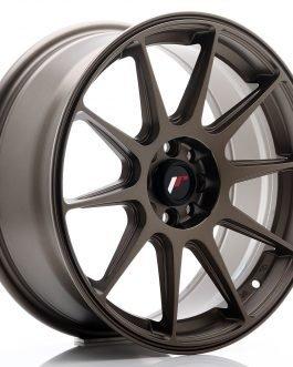 JR Wheels JR11 17×7,25 ET25 4×100/108 Matt Bronze