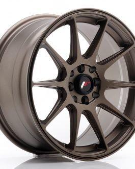 JR Wheels JR11 17×8,25 ET35 4×100/114,3 Matt Bronze