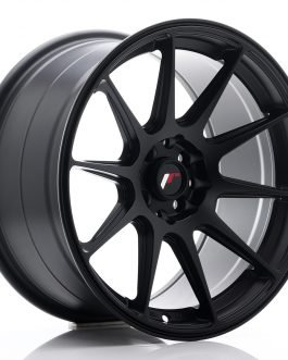 JR Wheels JR11 17×9 ET20 4×100/114 Matt Black