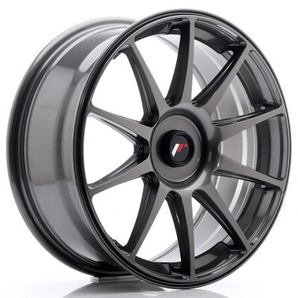 JAPAN RACING JR Wheels JR11 18x7,5 ET35-40 Blank Hyper Gray 7.50x18