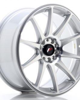 JR Wheels JR11 18×8,5 ET35 5×100/108 Silver Machined Face