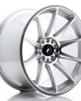 JR Wheels JR11 18×9,5 ET30 5×112/114 Silver Machined Face