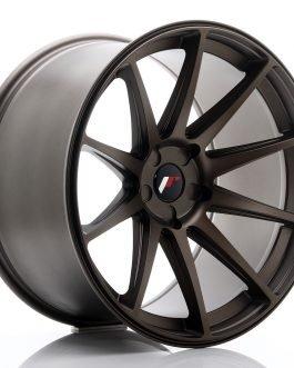 JR Wheels JR11 20×11 ET20-30 5H BLANK Matt Bronze