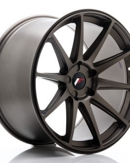 JR Wheels JR11 20×11 ET30-52 5H BLANK Matt Bronze
