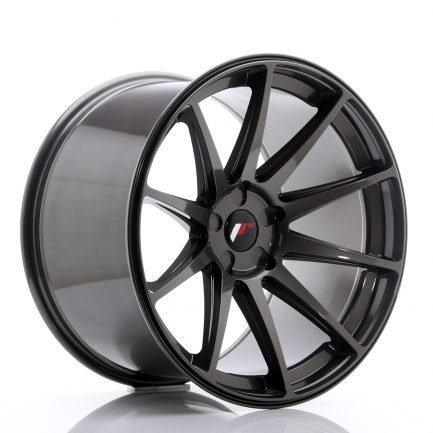 JAPAN RACING JR Wheels JR11 20x12 ET20-42 5H Blank Hyper Gray 12.00x20